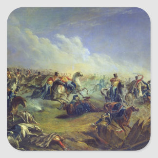 The Guard hussars attacking near Warsaw Square Sticker