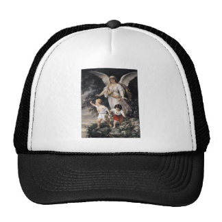 The Guardian Angel and Children, Vintage Painting. Trucker Hat