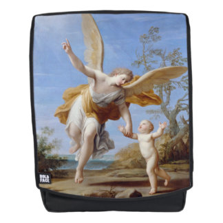 """The Guardian Angel"" art backpack"