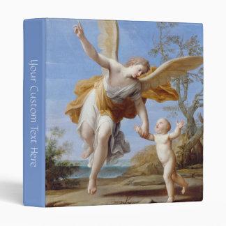 """The Guardian Angel"" art binder"