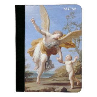 """The Guardian Angel"" custom monogram padfolio"