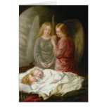 The Guardian Angels Greeting Card