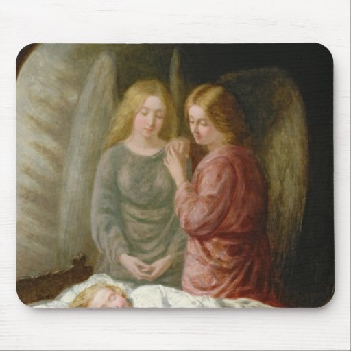 The Guardian Angels Mouse Pad