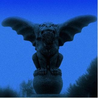 The Guardian Gargoyle - Blue Statuette