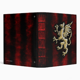 The Guardian Gryphon Grimiore Gothic Binder