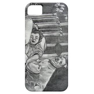 The Guardian Phone case- original graphite artwork iPhone SE/5/5s Case