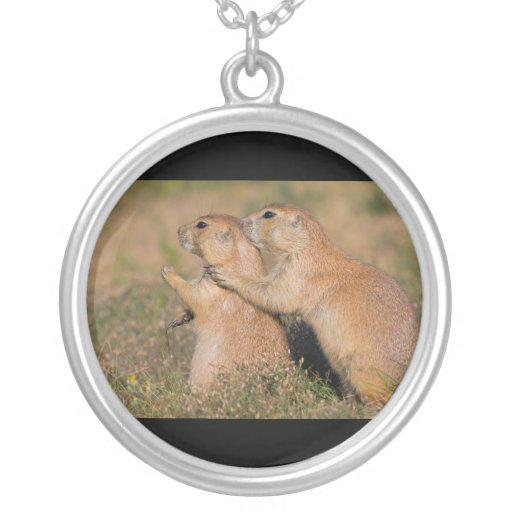 The Guardian Round Pendant Necklace