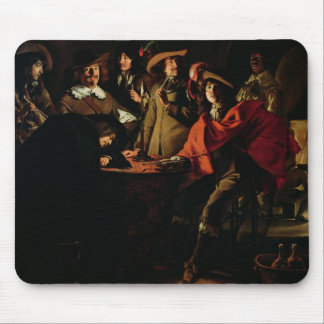 The Guards Smoking, 1643 Mouse Pad