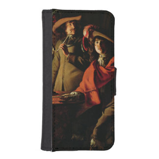 The Guards Smoking, 1643 Phone Wallet