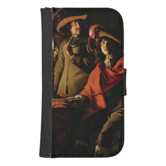 The Guards Smoking, 1643 Samsung S4 Wallet Case