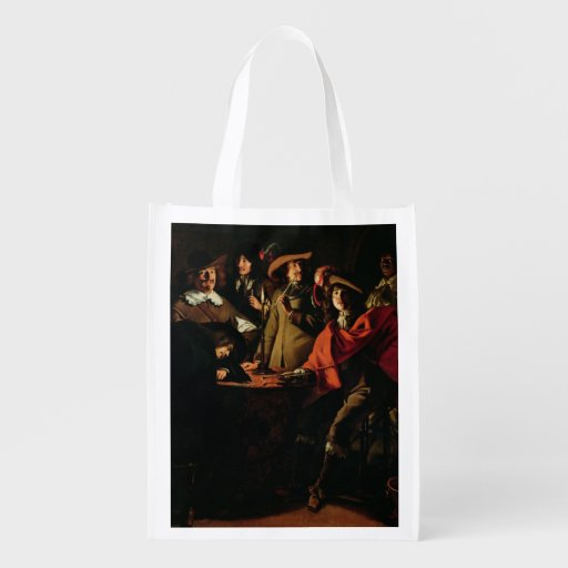 The Guards Smoking, 1643 Market Tote