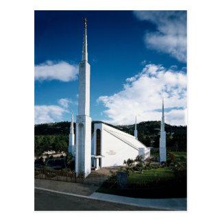 The Guatemala City Guatemala LDS Temple Postcard