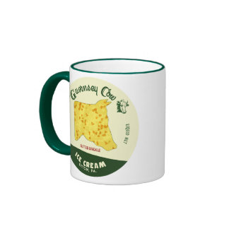 The Guernsey Cow Butter Brickle Ice Cream Mug