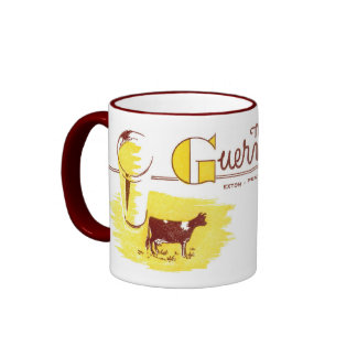 The Guernsey Cow Exton, PA Ringer Coffee Mug