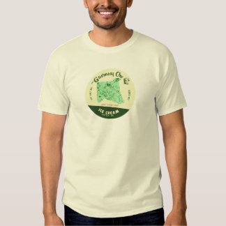 The Guernsey Cow Ice Cream Tshirt: Mint Choc Chip Tees