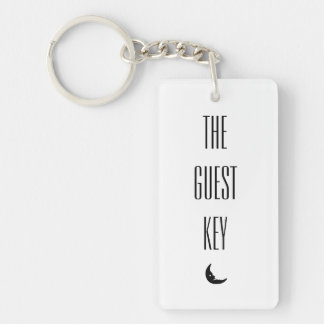 The Guest Key Keychain
