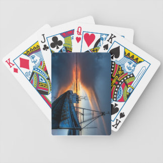 The Guiding Light Bicycle Playing Cards