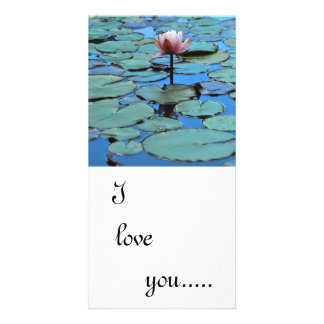 The Guiding light I love you Picture Card