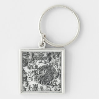 The Guilbray Fair and the Cattle Market Keychain