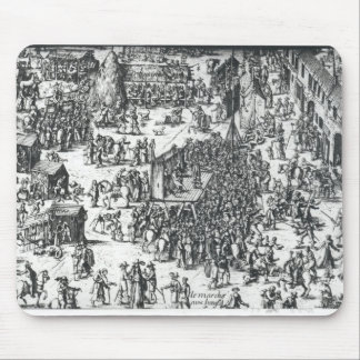 The Guilbray Fair and the Cattle Market Mouse Pad