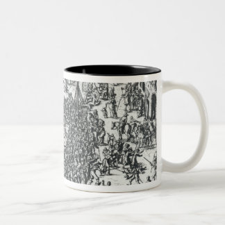 The Guilbray Fair and the Cattle Market Two-Tone Coffee Mug