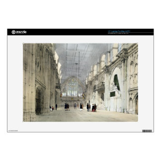 "The Guildhall, Interior, from 'London As It Is', e 15"" Laptop Skins"