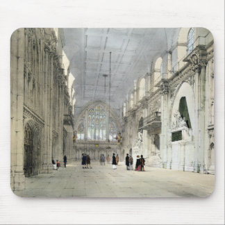 The Guildhall, Interior, from 'London As It Is', e Mouse Pad