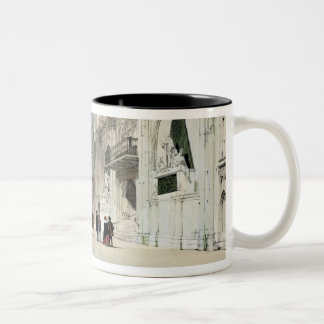 The Guildhall, Interior, from 'London As It Is', e Two-Tone Coffee Mug