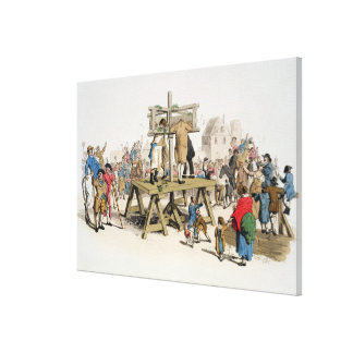 The Guilty Canvas Print