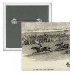 The Guinea Race, Newmarket Pinback Button