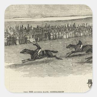 The Guinea Race, Newmarket Square Sticker