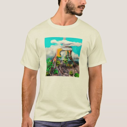 The Guitar Mountain by C.S. Alexander T-Shirt