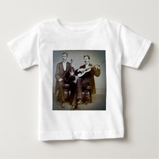 The Guitar Player and the Violinist Vintage Baby T-Shirt