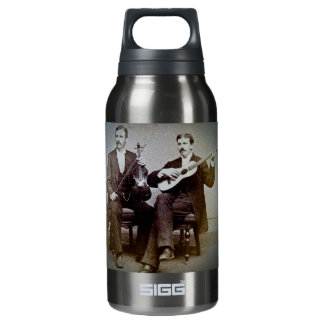 The Guitar Player and the Violinist Vintage Insulated Water Bottle