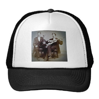 The Guitar Player and the Violinist Vintage Trucker Hat