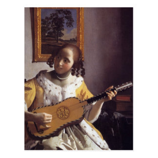 The Guitar Player Postcard