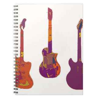 THE GUITAR PLAYS NOTEBOOK