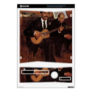 The guitarist Pagans and Monsieur Degas by Manet Skin For Xbox 360 S
