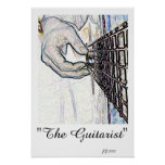 The Guitarist Poster