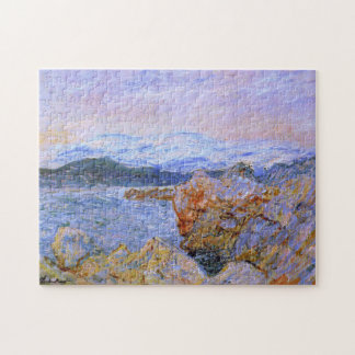 The Gulf Juan at Antibes Monet Fine Art Jigsaw Puzzle
