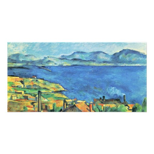 The Gulf Of Marseille Seen From L'Estaque Photo Card