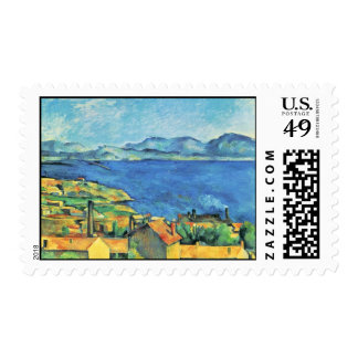 The Gulf Of Marseille Seen From L'Estaque Postage