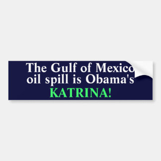 The Gulf of Mexico Bumper Sticker