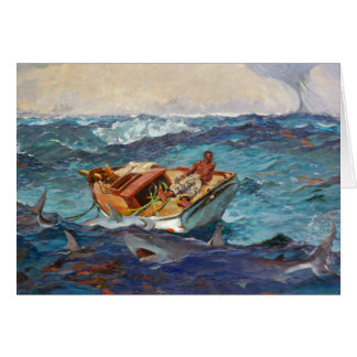 The Gulf Stream by Winslow Homer Stationery Note Card