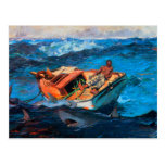The Gulf Stream by Winslow Homer Postcard