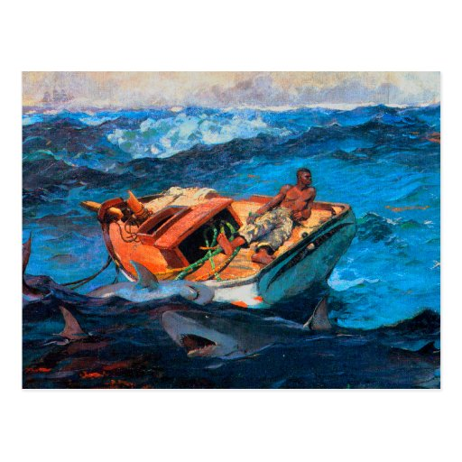The Gulf Stream by Winslow Homer Post Card
