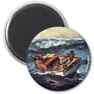 The Gulf Stream Gulf Stream By Homer Winslow Refrigerator Magnet
