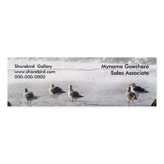 The gull squad business card template