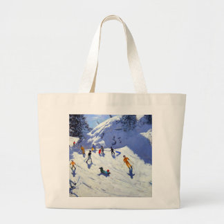 The Gully Belle Plagne 2004 Large Tote Bag