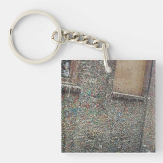 The Gum Wall Keychain